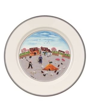 Villeroy & Boch Dinnerware, Design Naif Salad Plate Country Yard