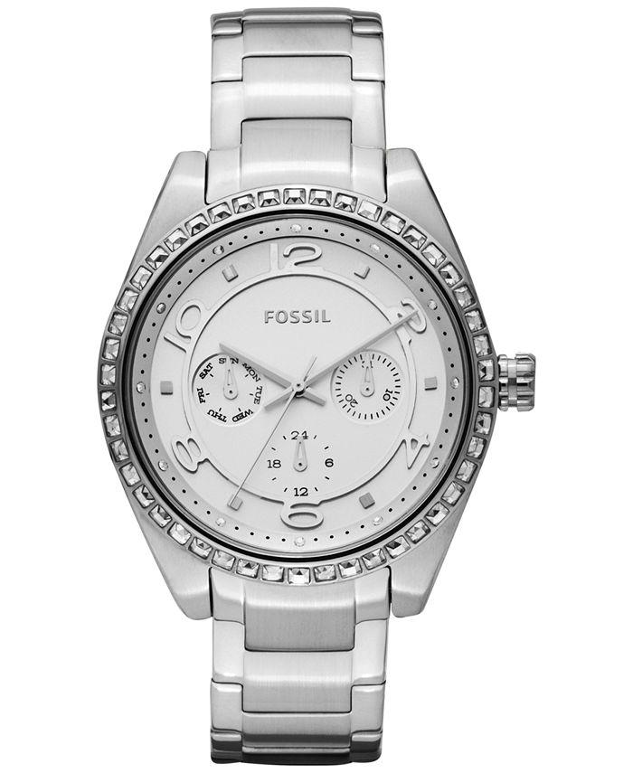 Fossil - Women's Carissa Stainless Steel Bracelet Watch 40mm