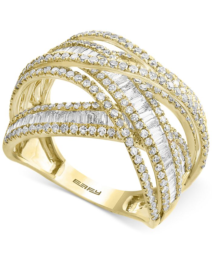 EFFY Collection - Diamond Multi-Band Weave-Style Ring (2 ct. t.w.)