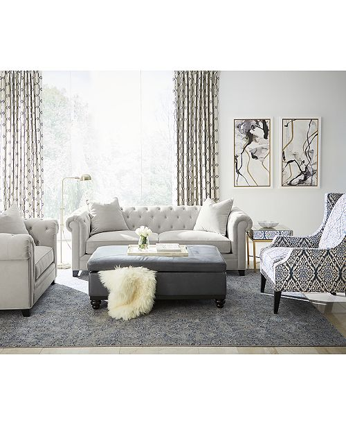 Martha Stewart Collection Saybridge Living Room Furniture Collection, Created For Macy