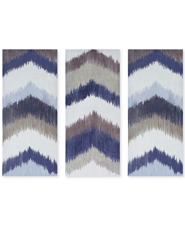 JLA Home INK+IVY Alpine 3-Pc. Gel-Coated Canvas Print Set