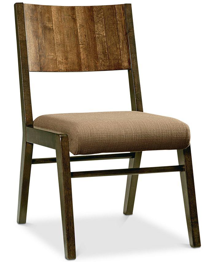 Furniture - Ashton Wood Back Side Chair