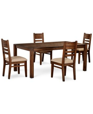 Furniture Avondale Large Dining 5 Pc Set 72 Dining Table 4 Side Chairs Created For Macy S Reviews Furniture Macy S