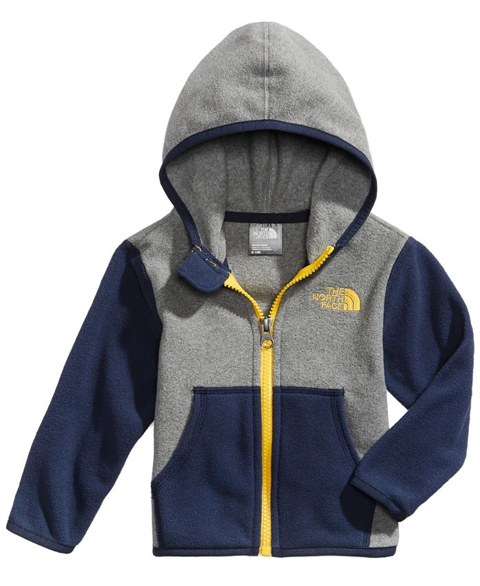 The North Face - Glacier Colorblocked Zip Hoodie, Baby Boys (0-24 months)