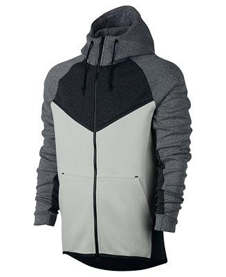 nacimiento Departamento Desde  Nike Men's Sportswear Tech Fleece Windrunner Zip Hoodie & Reviews - Hoodies  & Sweatshirts - Men - Macy's