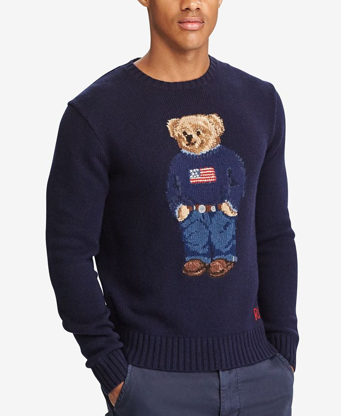 Polo Ralph Lauren - Men's Iconic Polo Bear Sweater