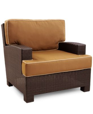 San Lucia Wicker Patio Furniture, Outdoor Lounge Chair - furniture ...