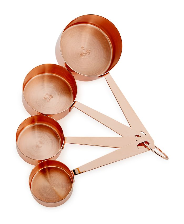 Martha Stewart Collection - Copper-Plated Measuring Cups