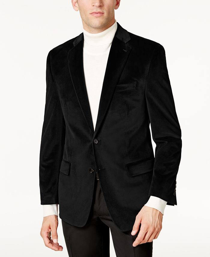 Lauren Ralph Lauren - Men's Classic-Fit Velvet Sport Coat