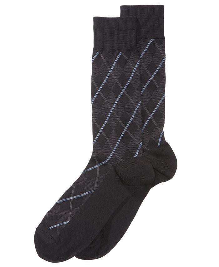 Perry Ellis Portfolio - Men's Printed Dress Socks