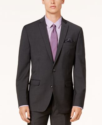 Men's Slim-Fit Active Stretch Wool Suit Jacket, Created for Macy's