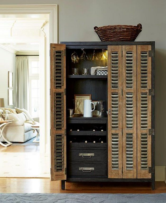 Furniture - Veronica Home Bar Cabinet