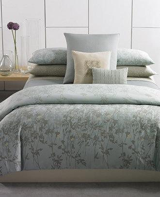 Calvin klein marin comforter and duvet cover sets Calvin klein bedding