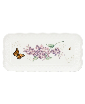 Lenox Dinnerware, Butterfly Meadow Basket Rectangular Tray