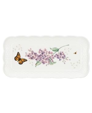 Lenox Dinnerware, Butterfly Meadow Basket Rectangular Tray