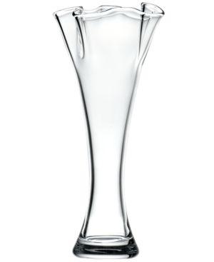 Closeout! Lenox Gifts, Organics Ruffle Cylinder Vase 12