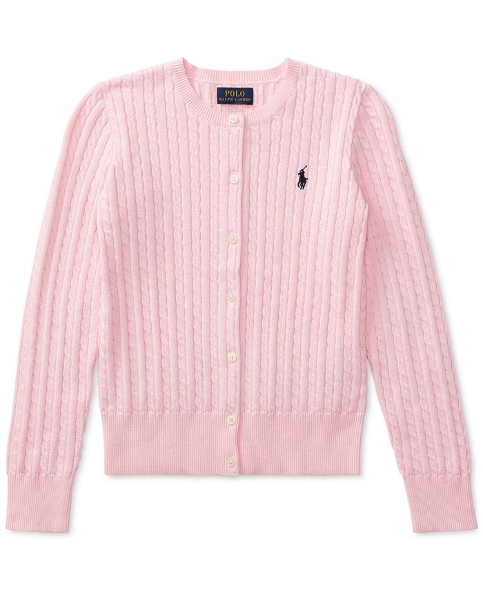 Polo Ralph Lauren - Little Girl Cable Cardigan Sweater