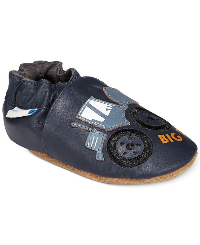Robeez - Big Dig Shoes, Baby Boys (0-4)