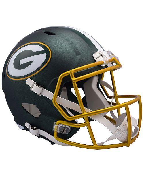 Riddell Green Bay Packers Speed Blaze Alternate Replica Helmet Reviews Sports Fan Shop By Lids Men Macy S