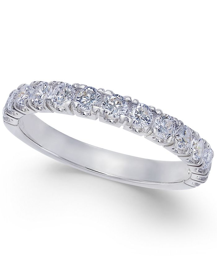 Macy's - Pave Diamond Band Ring in 14k Gold or White Gold (3/4 ct. t.w.)