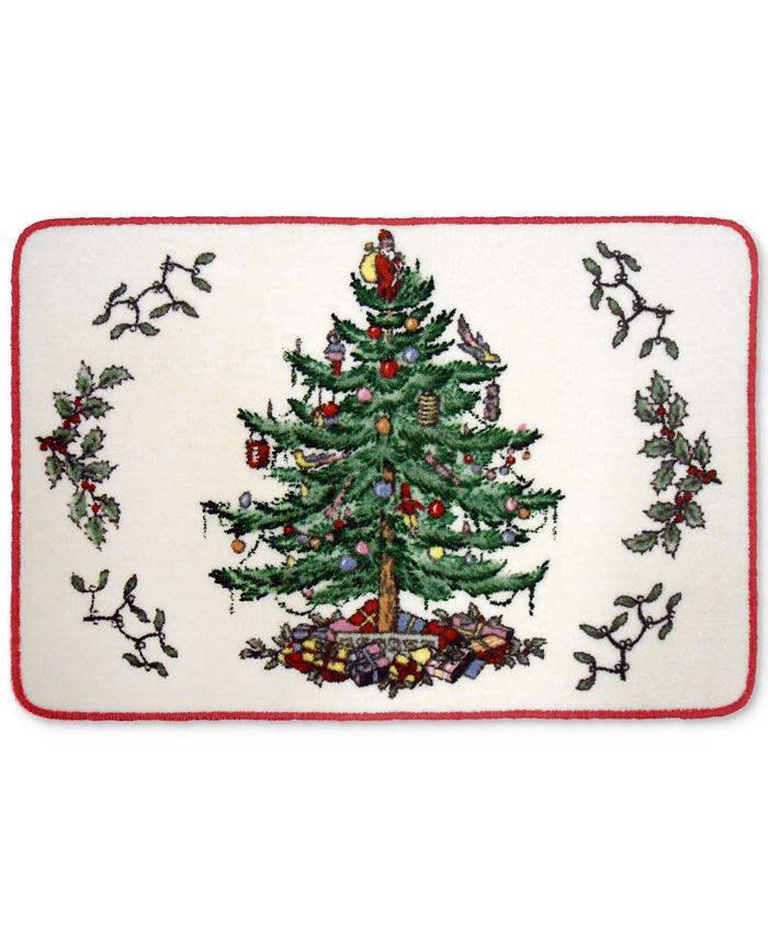 Spode - Christmas Tree Bath Rug