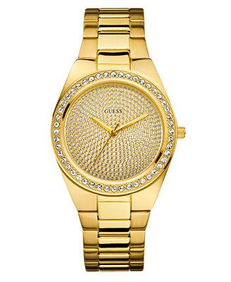 guess s gold tone bracelet 39mm u11055l1