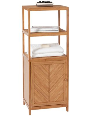Creative Bath Organization, 3-Shelf Tower with Cabinet