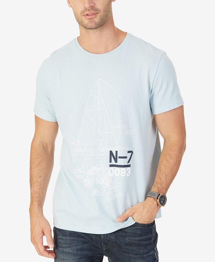 Nautica - Men's Graphic-Print T-Shirt