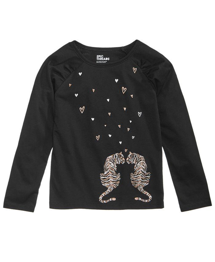 Epic Threads - Graphic-Print T-Shirt, Little Girls (2-6X)