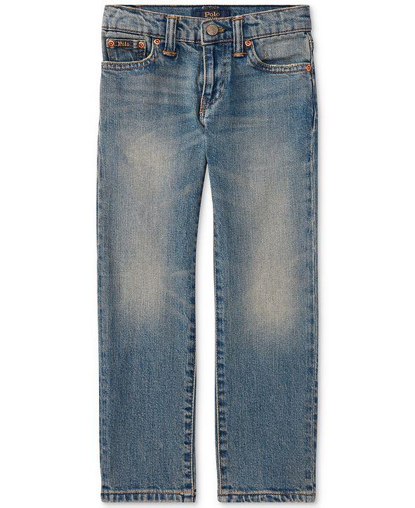 Polo Ralph Lauren Toddler Boys Slim-Fit Mott Jeans