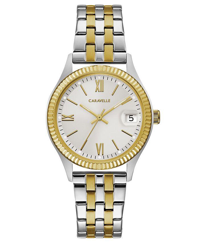 Caravelle - Women's Two-Tone Stainless Steel Bracelet Watch 32mm