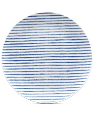 Hammock Coupe  Stripe Salad Plate, Created for Macy's