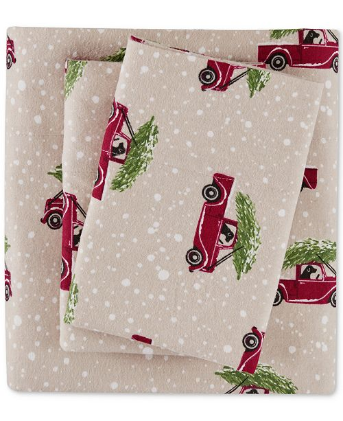 Woolrich Cotton Flannel Sheet Sets Reviews Sheets Pillowcases Bed Bath Macy S