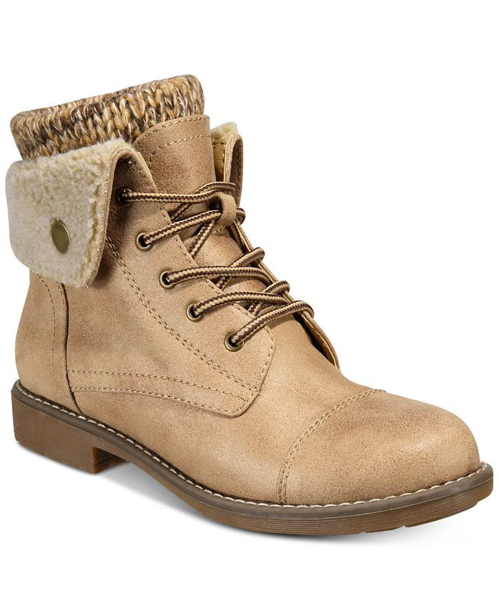 Cliffs by White Mountain - Duena Lace-Up Booties