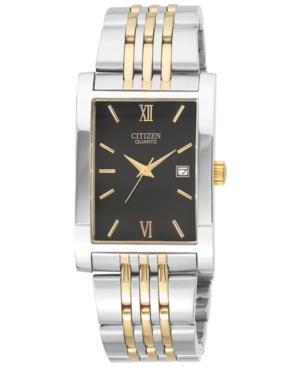 Citizen Men's Two Tone Stainless Steel Bracelet Watch 27mm BH1374-51E
