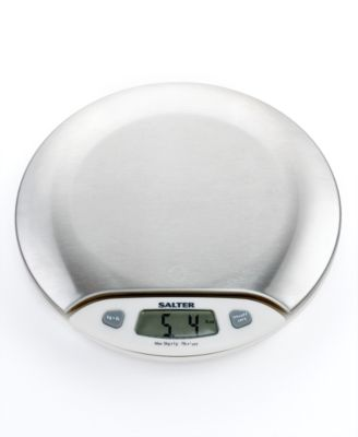 Martha Stewart Collection Digital Kitchen Scale, Stainless Steel
