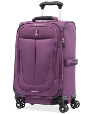 """CLOSEOUT! Walkabout 4 21"""" Softside Carry-On Spinner, Created for Macy's"""