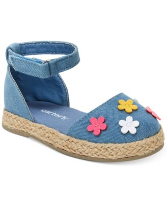 Brea Espadrille Sandals, Toddler Girls