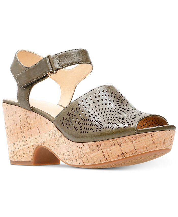 Clarks - Women's Maritsa Nila Wedge Sandals