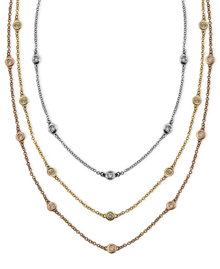 EFFY Collection - Diamond Station Necklaces