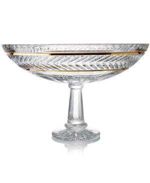 Trump Home Crystal Bowl, Mar-a-Lago Footed Centerpiece