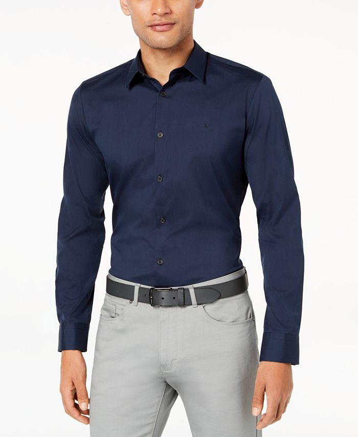 Calvin Klein - Men's French Placket Shirt