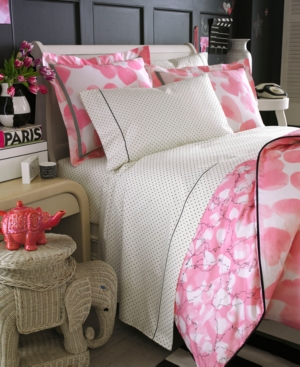 Teen Vogue Bedding, Faded Hearts 200 Thread Count Full Sheet Set Bedding