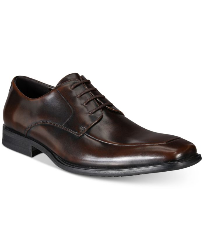 Kenneth Cole Reaction Men's Settle Moc-Toe Oxfords  & Reviews - All Men's Shoes - Men - Macy's