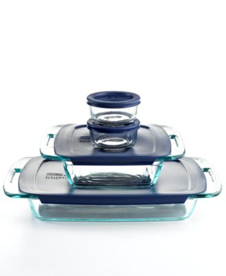 Pyrex 8 Piece Bake and Store Set