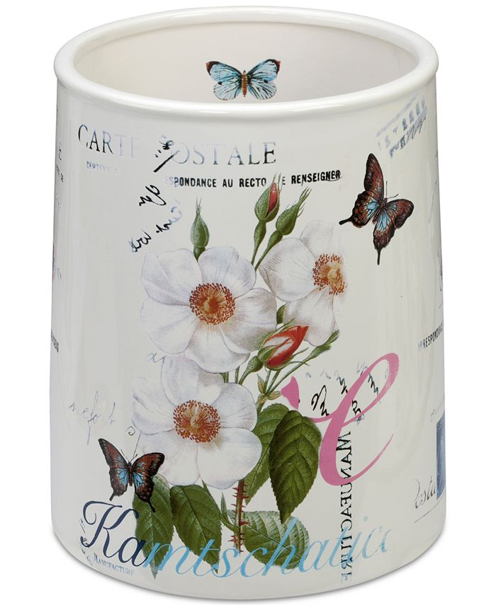 Creative Bath - Botanical Wastebasket
