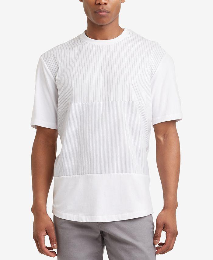 Kenneth Cole - Men's Blocked Gradient-Stripe T-Shirt