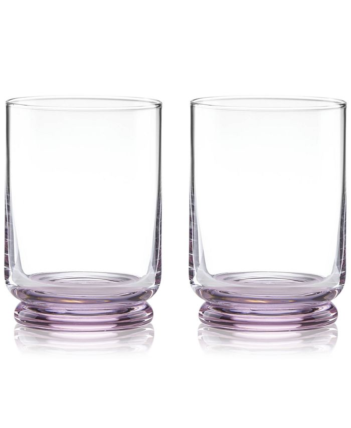 kate spade new york - Charles Lane Double Old Fashioned Glasses, Set of 2