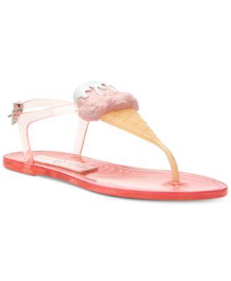 Katy Perry Sundae Flat Jelly Sandals