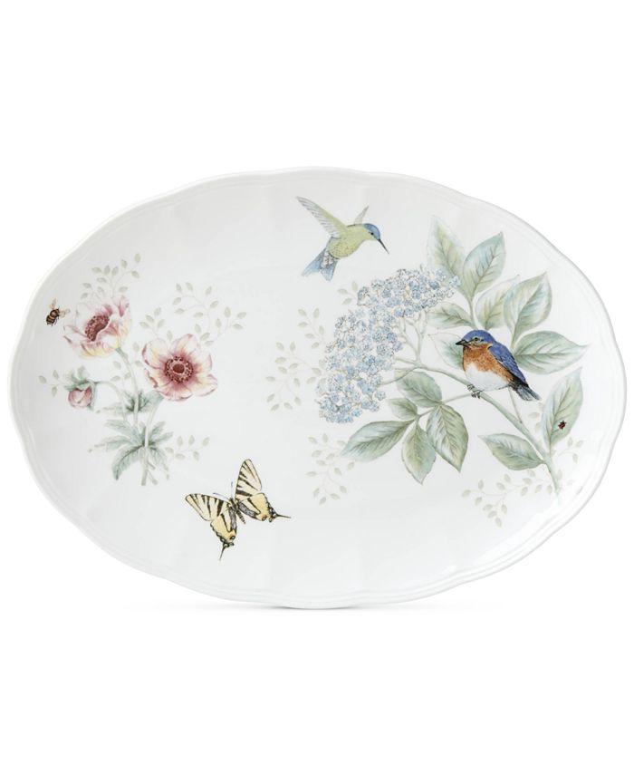 Lenox - Butterfly Meadow Flutter Oval Platter